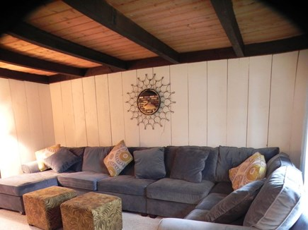 Eastham Cape Cod vacation rental - 2nd w/TV Living area (fold out)
