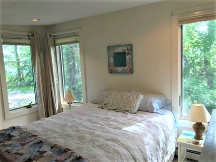 Eastham Cape Cod vacation rental - 2nd Fl BR w/2 queens-its own bath & seating w/2 single pull-outs