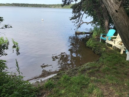 Eastham Cape Cod vacation rental - Private Great Pond beach (shared with one other house)