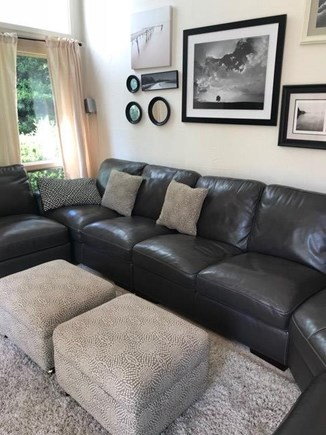 Eastham Cape Cod vacation rental - Main living area with Large Screen TV