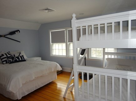 Centerville Centerville vacation rental - Queen bedroom and twin bunk beds