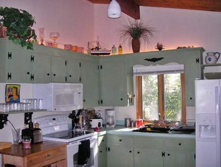 E Falmouth Cape Cod vacation rental - The kitchen