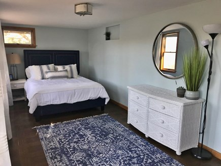 E Falmouth Cape Cod vacation rental - Downstairs bedroom with queen bed