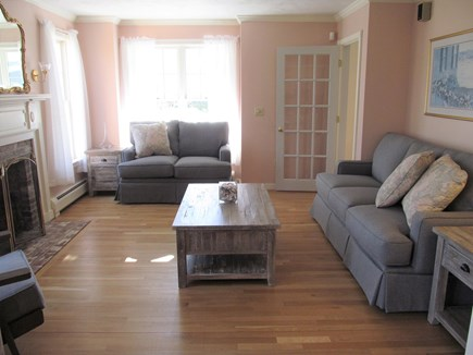 Chatham Cape Cod vacation rental - Comfortable Living Room with music and flameless candles