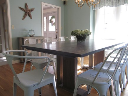 Chatham Cape Cod vacation rental - Spacious dining room seats 10 comfortably. We've had 14. Music.
