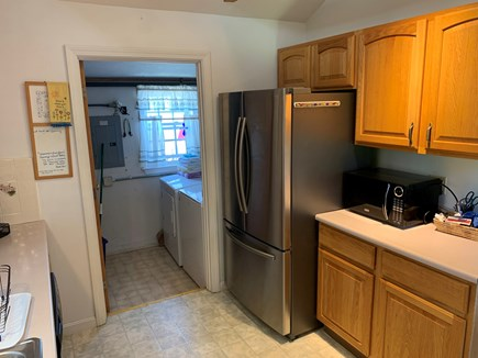 Plymouth, White Horse Beach, Manomet MA vacation rental - Kitchen and laundry