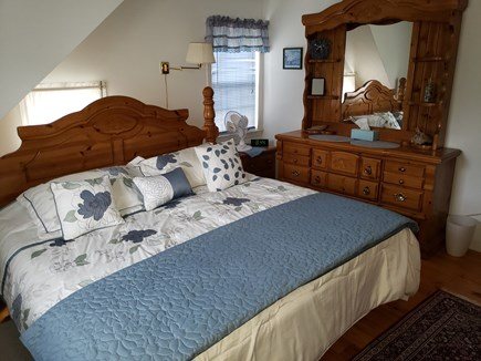 Plymouth, White Horse Beach, Manomet MA vacation rental - Upstairs king bedroom