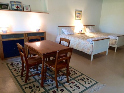 Orleans Cape Cod vacation rental - Lower-level sleeping alcove w/2 Twins