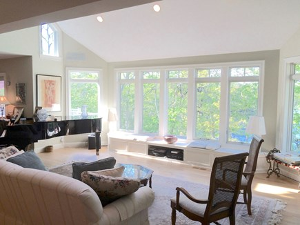 Orleans Cape Cod vacation rental - Bay windows on the Pond