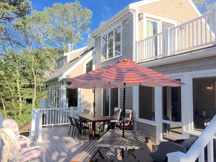 Orleans Cape Cod vacation rental - Deck view on waterside