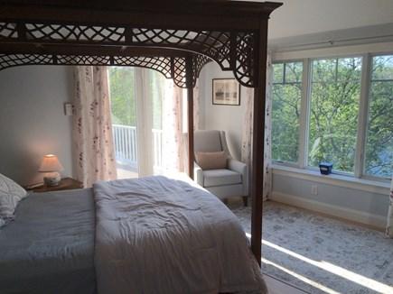 Orleans Cape Cod vacation rental - Upper level bedroom #1 w/Queen & upper deck