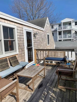 Provincetown Cape Cod vacation rental - Outside deck