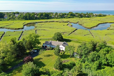 Sandwich Cape Cod vacation rental - Aerial View