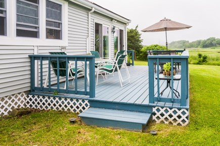 Sandwich Cape Cod vacation rental - Back Deck