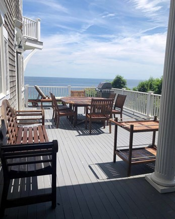 Sagamore Beach Sagamore Beach vacation rental - Main Floor Deck with Teak Outdoor Furniture and Grill.