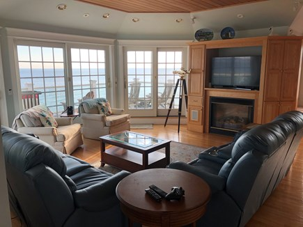 Sagamore Beach Sagamore Beach vacation rental - Third floor TV room, bar area, large deck w/ 180 degree of ocean.