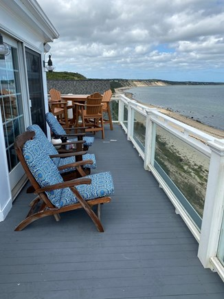 Sagamore Beach Sagamore Beach vacation rental - Third Floor Deck w/ 180 degree beach view!