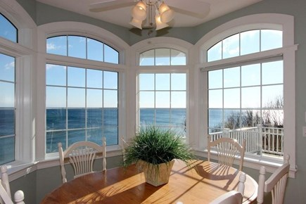 Sagamore Beach Sagamore Beach vacation rental - Kitchen Table with View.