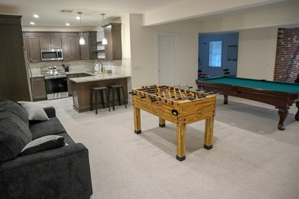 Yarmouth Cape Cod vacation rental - The newly finished lower level has a full new custom kitchen.