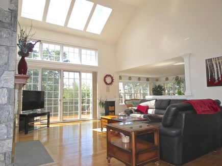 Yarmouth Cape Cod vacation rental - Spacious, bright and cheery interior common space