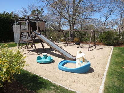 Yarmouth Cape Cod vacation rental - Your kids have their own private playground