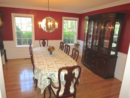 Yarmouth Cape Cod vacation rental - Roomy dining room