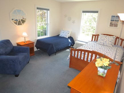 Yarmouth Cape Cod vacation rental - This first floor bedroom has a full and twin bed