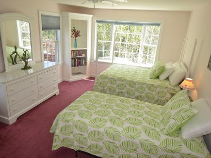 Yarmouth Cape Cod vacation rental - Second level bedroom with a twin and full size double.