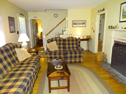 Hyannis Cape Cod vacation rental - Living room view, taken from sitting room