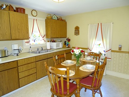 Hyannis Cape Cod vacation rental - Dining area in kitchen