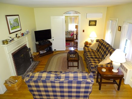 Hyannis Cape Cod vacation rental - Living room with flat screen TV