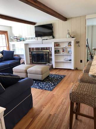 West Dennis Cape Cod vacation rental - Living room view