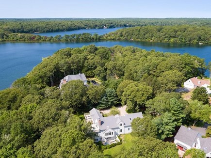 Barnstable, Marstons Mills Cape Cod vacation rental - Middle Pond w/passthru 2 Mystic Lake. Separate dock on Hamblin Pd