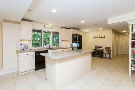 Barnstable, Marstons Mills Cape Cod vacation rental - Lower Level kitchenette/bar area (No cooking)