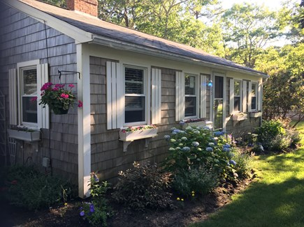 South Yarmouth Cape Cod vacation rental - Front of cottage with Cape Cod charm.