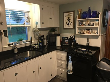 South Yarmouth Cape Cod vacation rental - Updated kitchen with granite counter tops.