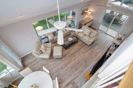 Popponesset, New Seabury Cape Cod vacation rental - From loft looking down