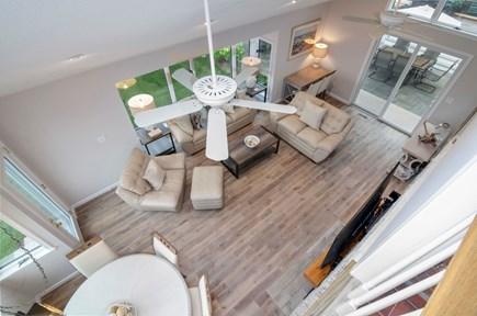 New Seabury New Seabury vacation rental - From loft looking down