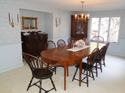 East Orleans Cape Cod vacation rental - Large dining area, comfortably seats 8