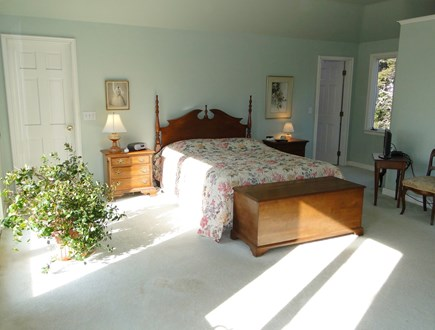 East Orleans Cape Cod vacation rental - Upstairs master suite with walk-in closet
