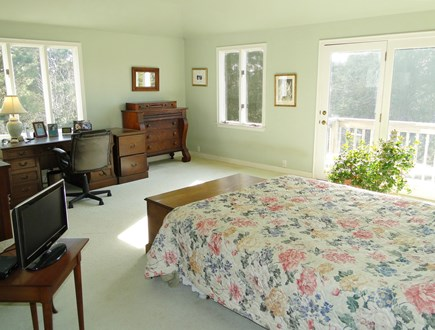 East Orleans Cape Cod vacation rental - Spacious master with slider to deck
