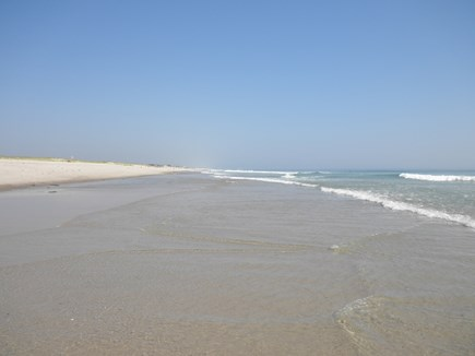 East Orleans Cape Cod vacation rental - Your private ocean beach just south of Nauset beach at low tide