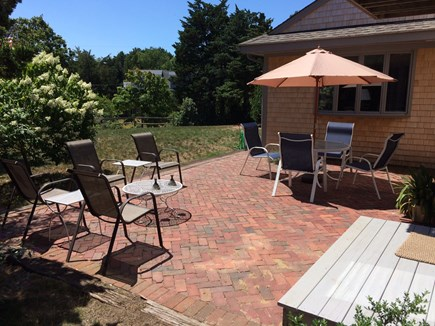 East Orleans Cape Cod vacation rental - 17' x 24' Brick Patio