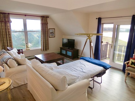Chatham Cape Cod vacation rental - Sleep sofa room with views