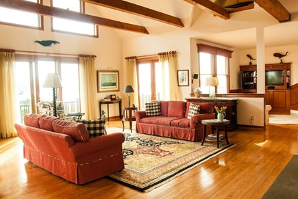 Chatham Cape Cod vacation rental - Open, cheery social common space
