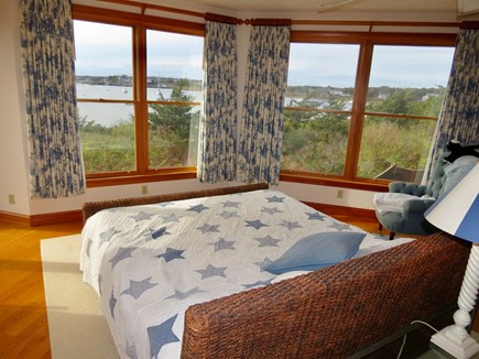 Chatham Cape Cod vacation rental - Master BR with commanding water views