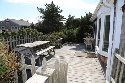 East Sandwich Cape Cod vacation rental - Private outdoor deck