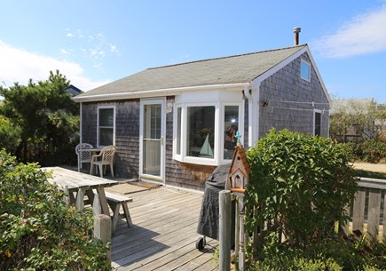 East Sandwich Cape Cod vacation rental - Front view of cottage