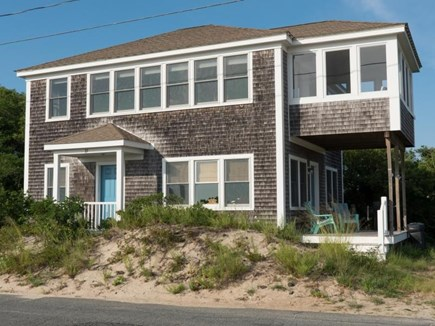 Truro Cape Cod vacation rental - Front of house facing Corn Hill Beach