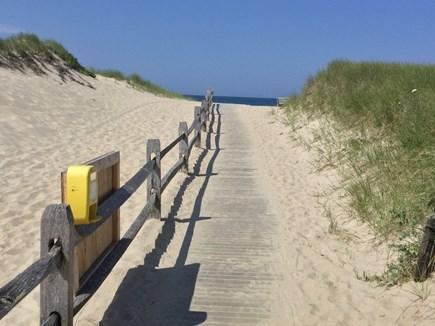 Truro Cape Cod vacation rental - Walk way to beach